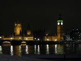 London Big Bang House of Parlement bei Nacht