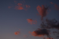 Wolken im Abendrot,Red cloud in the Sunset